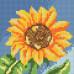 Алмазна вишивка (набір UA) Маленький соняшник