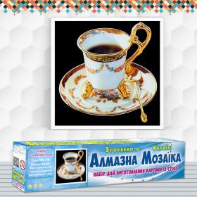 Алмазна вишивка (набір) Чашка ароматної кави