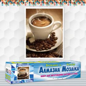 Алмазна вишивка (набір) Чашка кави еспресо