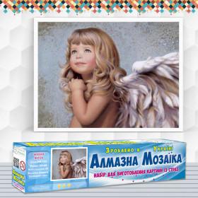 Алмазна вишивка (набір) Милий ангел