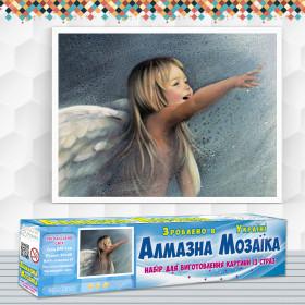Алмазна вишивка (набір) Ангельський сміх