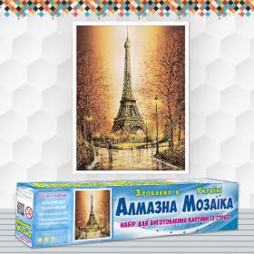 Алмазна вишивка (набір) Осінь в Парижі