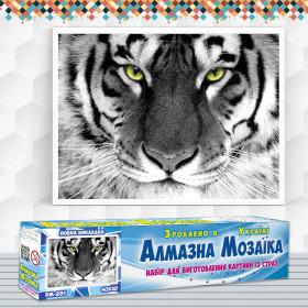 Алмазна вишивка (набір) Погляд тигра