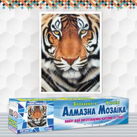 Алмазна вишивка (набір) Тигр