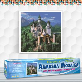 Алмазна вишивка (набір) Замок в горах